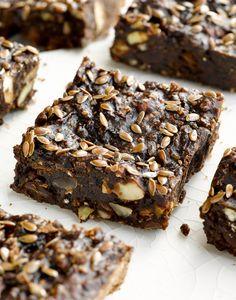 Home-Made Black Bean Chocolate Protein Bars. Photograph by St. Louis Food Photographer Jonathan Gayman
