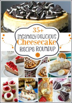 35+ Insanely Delicious Cheesecake Recipe Roundup, and a lot of other great recipes and ideas from the Best of the Blogosphere Linky Party at Embellishmints.com
