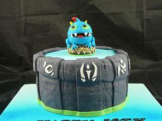 skylander cake -