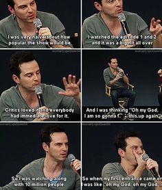 Andrew Scott! You did very well!!