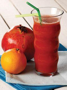 Havuç, nar, mandalina Tarifi -(bağışıklığı güçlendirir, kolestrolü ,tansiyonu dengeler. ..)