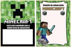 Ideias para uma Minecraft party!