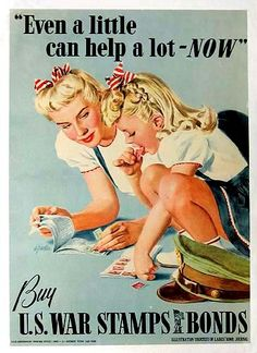 Shop WWII Ration Stamps & War Bonds Poster created by Retro_Art. Personalize it with photos & text or purchase as is! Vintage Advertisements, Vintage Ads, Vintage Posters, Funny Vintage, Retro Ads, Vintage Photos, Retro Advertising, Retro Humor, Vintage Cartoon