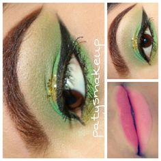 Green makeup by me