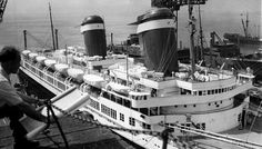 United States Lines AMERICA postwar reconversion, 1946