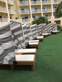 Daybeds are ready for the sun. Wood Furniture, Outdoor Furniture Sets, Outdoor Decor, Daybeds, Made In America, Hospitality, Sun, Home Decor, Timber Furniture