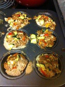 #Paleo mini turkey meatloaf