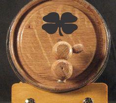 Four Leaf Clover American White Oak Whiskey Barrels chose your size 1L, 2 L, 3L, 5L and 10L