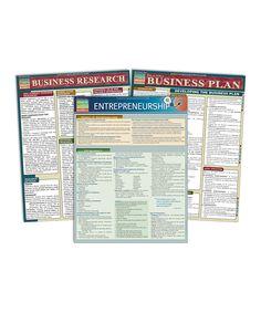 Look at this #zulilyfind! Entrepreneurship Reference Sheet Set by BarCharts #zulilyfinds