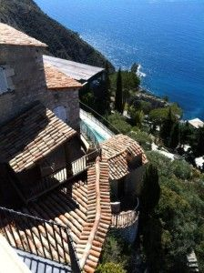 Eze Village on the French Riviera.