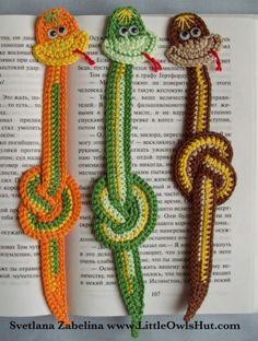 crochet snakes!
