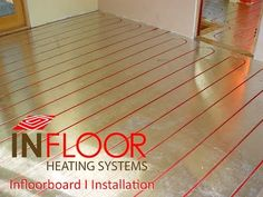 Infloorboard I is one of our premier hydronic radiant heating applications, designed to be installed on top of a subfloor. It's constructed of a dense compos. Radiant Floor, Radiant Heat, Heating Systems, Tile Floor, Projects To Try, Flooring, Basement, Youtube, Decorating Ideas