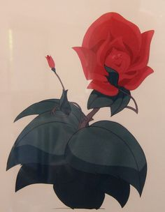 Disney concept art, Alice in Wonderland Flower by Sam Howzit, via Flickr