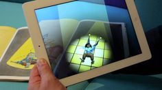 Promo for the 3d animated augmented reality app for the book Two Left Feet by Adam Stower.