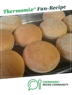 White Bread Rolls - Thermomumma by _b_e_v_. A Thermomix <sup>®</sup> recipe in the category Breads & rolls on www.recipecommunity.com.au, the Thermomix <sup>®</sup> Community.
