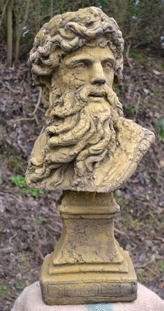 Hercules Roman god classical bust a magnificent bust of Hercules the Roman God Heracles in Greek mythology hand cast at our workshops in Sussex in