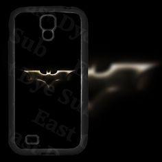 Golden Batman Design on Samsung Galaxy S4 Black Rubber Silicone Case by EastCoastDyeSub on Etsy https://www.etsy.com/listing/171911565/golden-batman-design-on-samsung-galaxy