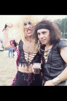Dee Snider and Ronnie James Dio