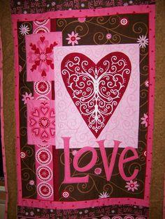 Valentine Love quilt