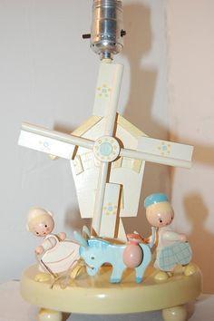 I had one of these!! irmi lamp | Irmi Don Quixote Windmill Nursery Lamp-Irmi Windmill Nursery Lamp ...