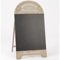 Tablica prowansalska do pisania kredą niezwykle przydatna w restauracjach, swoim wyglądem na pewno przyciągnie dużą ilość klientów.