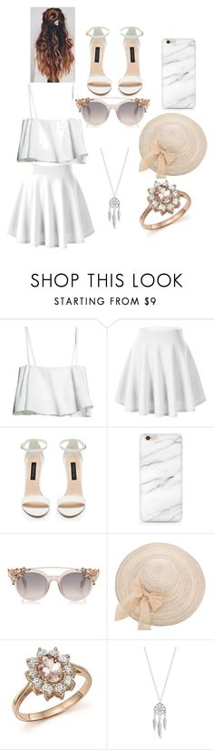 """Untitled #9"" by daileigh ❤ liked on Polyvore featuring Forever New, Bloomingdale's and Lucky Brand"