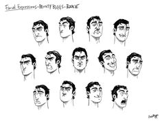 character sheet pixar - חיפוש ב-Google