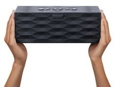 The Jawbone BIG Jambox Wireless Bluetooth Speaker packs a huge punch of audio power in a compact, travel ready speaker.