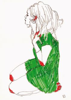muses / : Conrad Roset #illustration #conradroset  #drawing