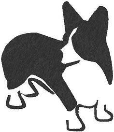 Corgi silhouette My Style Pinterest Pumpkins, Photos and Silhouettes