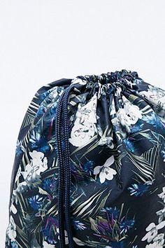 adidas - Sac de sport à imprimé floral foncé
