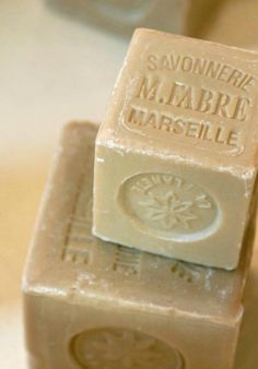 The history of Savon de Marseille. Long a favorite, I'm sharing the way this olive oil soap is made in the Provence region of France. Marseille Soap, French Soap, Antibacterial Soap, Olive Oil Soap, Palm Oil, Light Beige, Soap Making, Bath And Body, How To Make