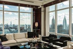 Элитная квартира на 1-й авеню, в Нью-Йорке   Дизайн интерьера, декор, архитектура, стили и о многое-многое другое