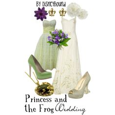 """Princess and the Frog"" by lalakay on Polyvore"