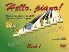 Hello, piano! Book 1. incl. 2 CDs English version