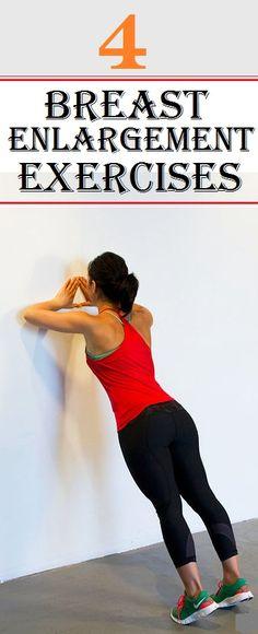 Top 4 #Breast Enlargement #Exercises