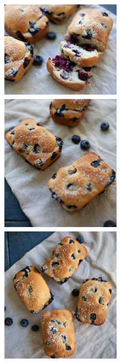 Mini Blueberry Cake. Everything tastes so much better when they are mini-me size. This yummy blueberry cake is perfect anytime of the day! @rasamalaysia