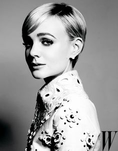 Carey Mulligan.  Did a double take...I really thought this was a young Julie Andrews.