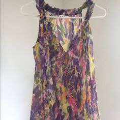 Cabi Tank Selling this gorgeous Cabi top that was only worn a couple times. In excellent condition. The perfect spring/summer top for work or a night out. CAbi Tops Tank Tops