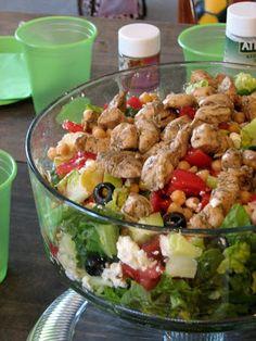 Meet Me in the Kitchen: Greek Chicken Salad