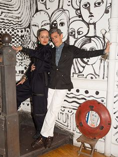 A Dynamic Beauty Duo: Isabel and Ruben Toledo Join Forces for MAC Cuba Art, Isabel Toledo, Bonnie Cashin, Stylish Couple, Fashion Couple, Beauty News, Graphic Illustration, Illustrators, Collection