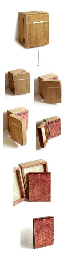 * tratado de incertezas · unique #artist #BOOK · 2020 · wood music box · Juanan Requena Photo Book, Decorative Boxes, Unique, Books, Home Decor, Livros, Homemade Home Decor, Livres, Book