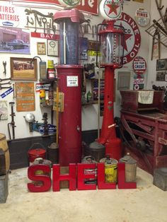 1960's SHELL Station Letters | Collectables | Shell station, Shell
