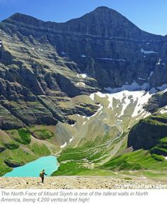 Cracker Lake Trail is among the Best Hikes in Glacier Park Montana. Includes Glacier Park Hikes, Glacier Park Trails, Hikes in Glacier National Park. Go Hiking, Hiking Trails, Glacier Park Montana, Park Trails, Best Hikes, Big Sky, Oh The Places You'll Go, Beautiful Landscapes, National Parks