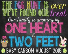 Are you looking for an adorable for your son or daughter to announce your pregnancy? This printable photo prop will allow you and your kids to