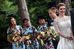 The July 18 marriage of Andrew Gregory, a comedian, and Casey McIntyre, an associate publisher, followed a courtship with, of course, a lot of laughter — but a few tears as well.