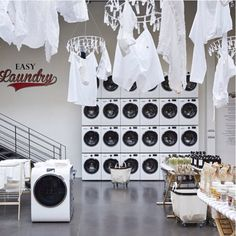 Merci to Merci for changing the city of lights to the city of laundry. #paris #merci