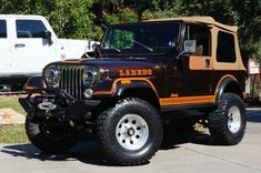 1982 Brown Jeep CJ7 Laredo! Rebuilt Motor in early 2015. Details Here---->  http://www.selectjeeps.com/inventory/view/8736490/1982-Jeep-CJ-4WD-2dr-Utility-CJ7-League-City-TX