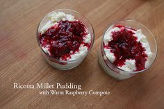 Ricotta Millet Pudding as seen on Lottie & Doof