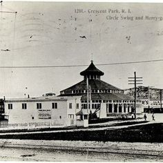 Looff's Riverside workshop attached to the 1895 Crescent Park Looff Carousel.